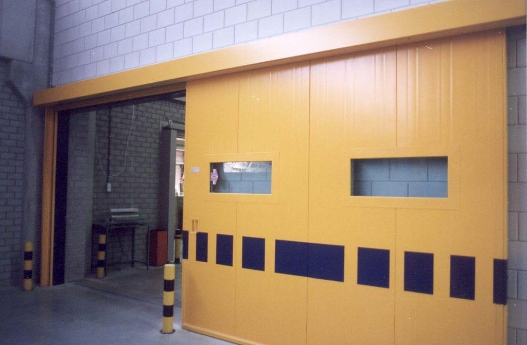 Brandwerende schuifdeur 60 min euro deur for Holland deuren service
